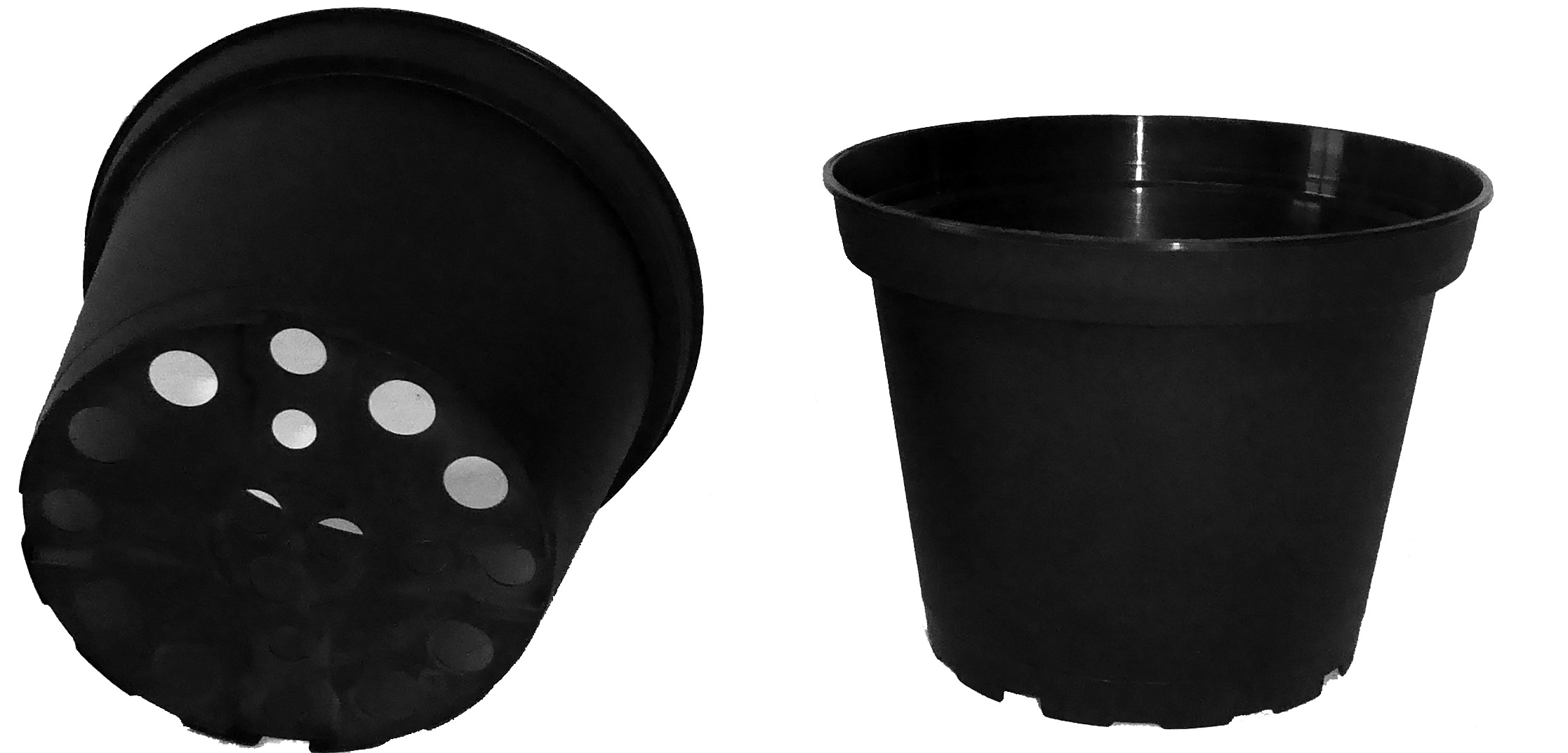 1 litre injection moulded pot