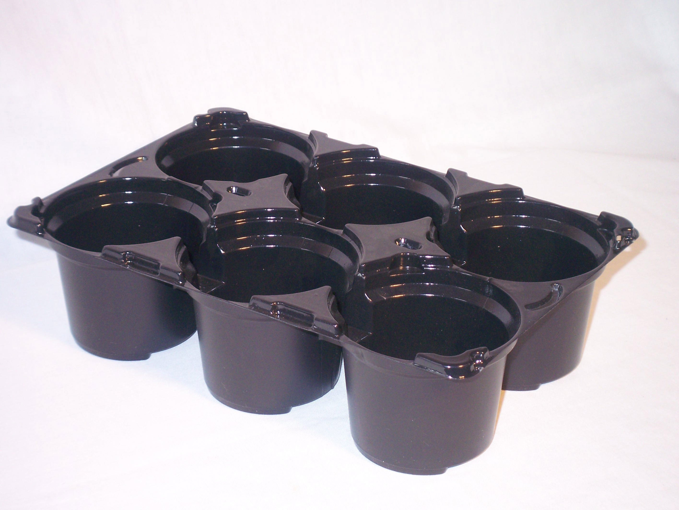 Carry Pack 6 x 10.5 cm round pots